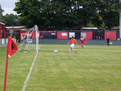 A breakthrough of WWFC's defence and a goal to Pelsall