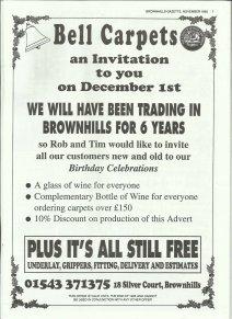 Brownhills Gazette November 1995 issue 74_000007