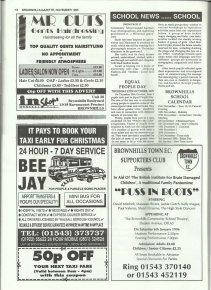 Brownhills Gazette November 1995 issue 74_000018