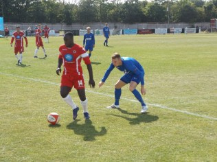Close marking and disciplined football self-evident