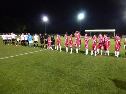 Hereford played in white and black this evening