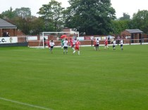 Early near goal to the Wood