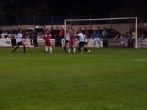 Hereford defend a Wood attacking move