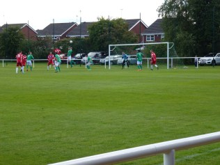 Second half and one of many attacks by the Wood.