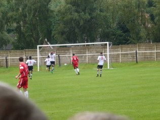 Second half and the Wood's first goal
