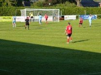 Cracking shot and excellent save by Wulfs keeper. Super soccer.