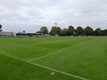 A fine autumnal setting and a fine display of enjoyable, positive soccer