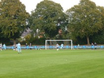 The Wood's equalising goal brought joy and cheers around the pitch. A cracking goal.