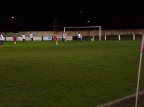 Coleshill defence outwitted and Wood score another goal.
