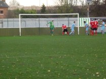 Third goal to the Wood. A cracker.