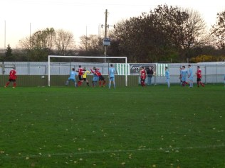 Second half pressure by Dunkirk brings a goal.