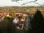 Chepstow is gorgeous, too - but very hilly.