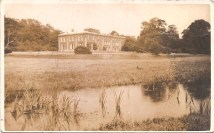 Hints Hall (Original demolished after the Second World War) and again I guess late 1920's early 1930's.
