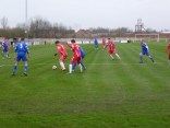 An early foray in to the Wulfrunians penalty area by the Wood