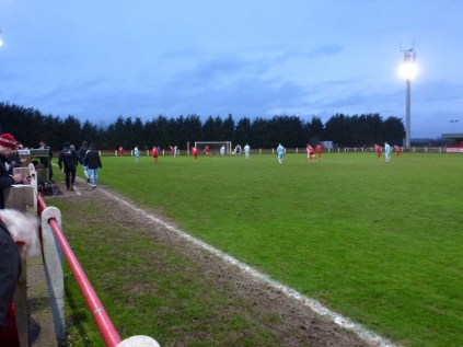 A few minutes in to the Second half and Quorn score an opportunistic goal.