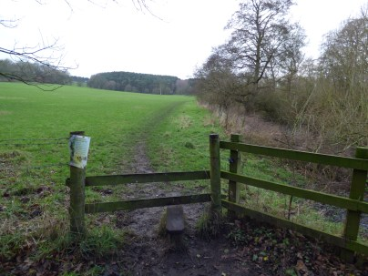 I think this is the location of the kissing gate, but could be wrong.