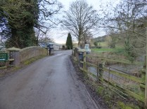 The bridge to Home Farm has changed little.