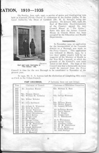 Cannock Chase Jubilee Souvenir 1935_000014