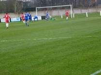 Second half goal by Joey Butlin of Walsall Wood.