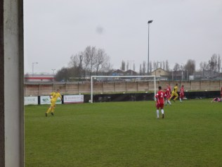 Breakthrough move by Shepshed brings their second goal in the first half.