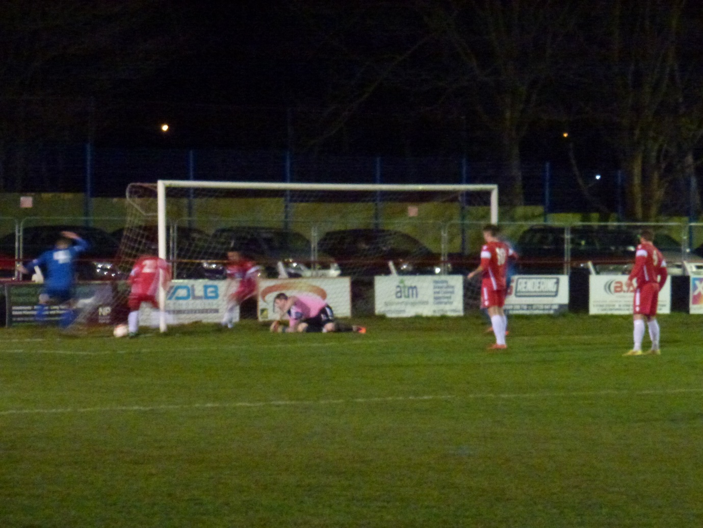 A match where players' increasing frustration became evident as they strove to score the elusive winning goal.
