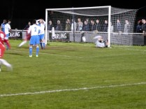 The Wood score their first goal.in the second half. 'Come on the Wood' was the cry!