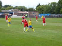 No let up as Tividale work hard to score a goal