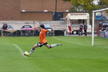 Some fine goalkeeping by both players stood out in today's game.