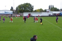 Final whistle brings to and end this fine contest, enjoyed and appreciated by all the spectators.