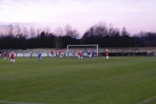 A precious goal to the Wood as the minutes tick by . Come on the Wood!