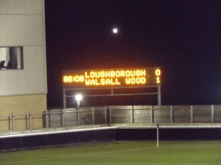 But for how long? Time for Loughborough to score the vital equalising goal?