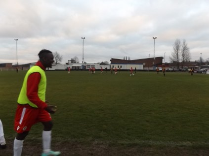 Equalising goal to Walsall Wood and joy erupts!