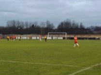 The Wood score their third and equalising goal in the second half. Grit and determination.