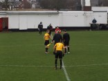 Romulus played in yellow and black at Oak Park today