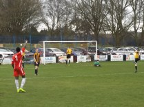 Wood score another goal as Romulus were caught cold, late in the second half