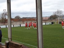 Moment of rejoicing following the first goal. How would Cadbury respond?