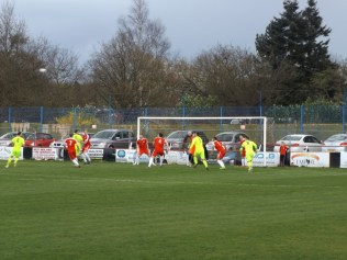 Another goal-scoring corner where Highgate proved to be determined, and vociferous. Both aspects became tiresome.