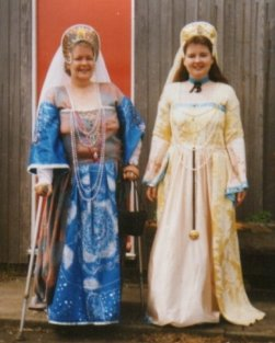 1993: Miriam Downes and Myself