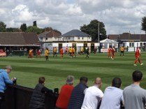 A bright afternoon, good crowd and fine ale and a meaningful display of soccer