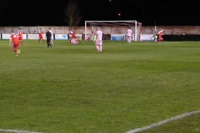 Wood's second goal in the first half. A peach of a goal. How would Highgate respond?