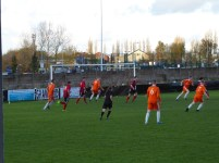 Montpellier on the attack with their captain, no 9 in bristling form. Pelsall defend well