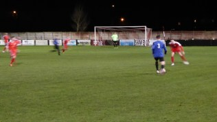 Wednesfield in early attacking move. This is going to be an interesting match!