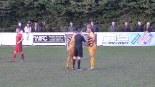 """The referee had a word with the tallest Stourport player after quite a while in the first half, watched closely by the captain, himself in need of a """"word"""", I felt. This was to come, after a long while."""