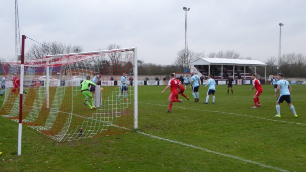 First half and the Wood begin to fire on all cylinders