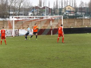 Coventry again on the attack, later in the first half. Smashing to see their determination.