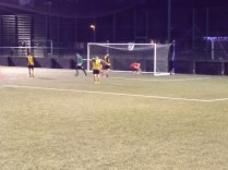 The winning goal, scored by the Wood. Late in the second half. And a peach of a goal.