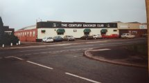 The Q-Bar snooker club was originally the Century. Great cars there. Image posted by Joy Spears.