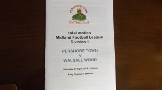 A beautifully sunny afternoon, a beautiful setting, very pleasant, welcoming local supporters and a match to remember.