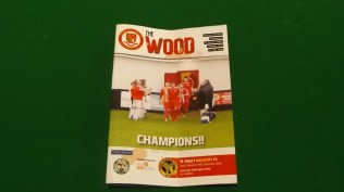 Today's comprehensive matchday programme
