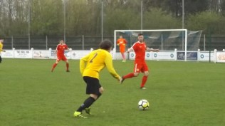Warwick on the attack. First half.